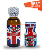 English Royale Leather Solvent Cleaners 30ml & 10ml-2Pack