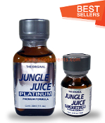 Jungle Juice Platinum Leather Solvent Cleaners 30ml & 10ml-2Pack