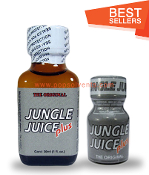 Jungle Juice Plus Leather Solvent Cleaners 30ml & 10ml-2Pack