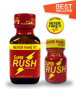 Super Rush Leather Solvent Cleaners 30ml & 10ml-2Pack