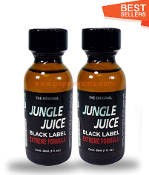 Jungle Juice Black Leather Solvent Cleaners 30ml-2Pack