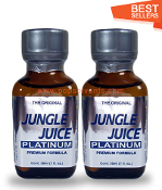 Jungle Juice Platinum Leather Solvent Cleaners 30ml-2Pack