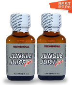 Jungle Juice Plus Leather Solvent Cleaners 30ml-2Pack