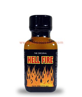 Hell Fire Leather Solvent Cleaner 30ml